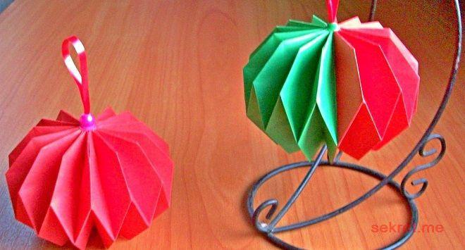 Новогодние шары к столу