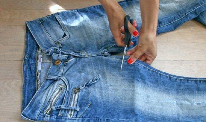 Как можно обрезать джинсы, чтобы выглядеть стильно?