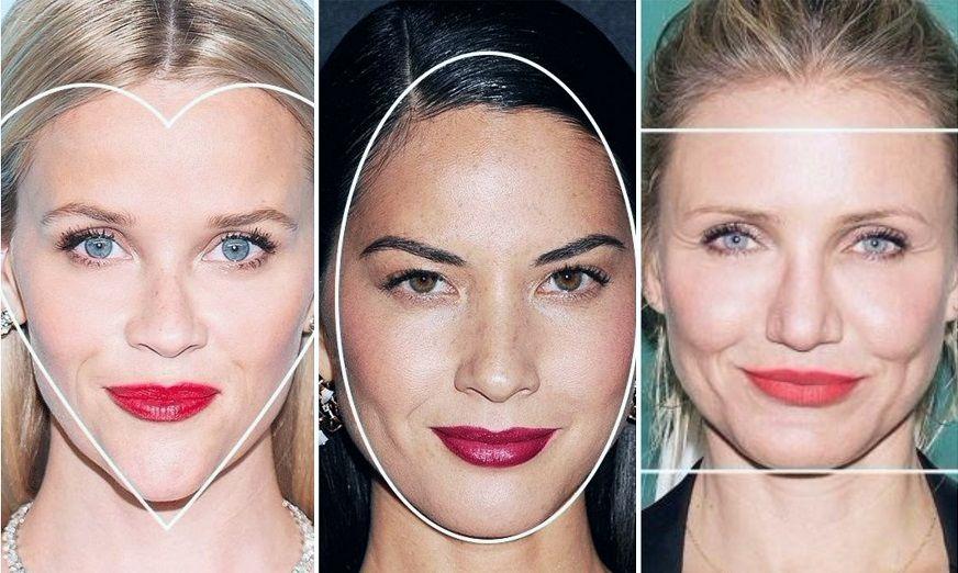 Типы лица для правильной укладки чёлки
