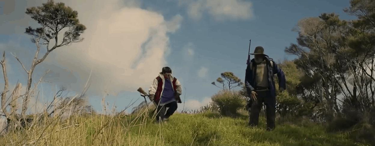 Охота на дикарей – Русский трейлер (2016, HD)