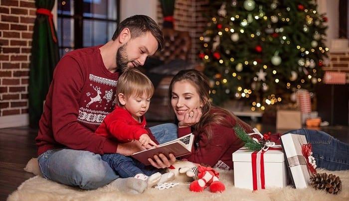 Новогодний вечер в кругу семьи