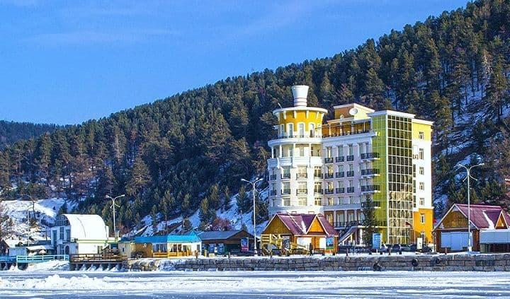 Байкал - Листвянка, новогодний отдых