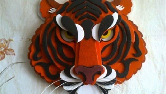 Новогодние поделки на год Тигра 2022 своими руками