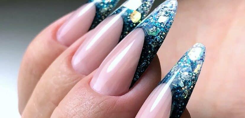 аквариумный дизайн ногтей как сделать